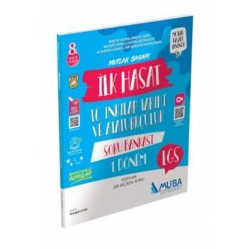 8. Sınıf LGS 1. Dönem T.C. İnkılap Tarihi ve Atatürkçülük Hasat Mutlak Başarı Soru Bankası Muba Yayınları
