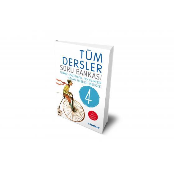 4. Sınıf Tüm Dersler Soru Bankası Tudem Yayınları