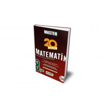 8. Sınıf Master 20 Matematik Denemesi Okyanus Yayınları