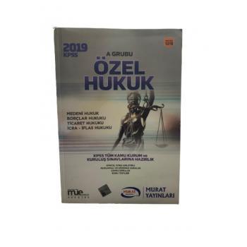 2019  KPSS A Grubu Özel Hukuk 1310 YAYIN KODU  Murat Yayınları