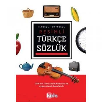Resimli Türkçe Sözlük Kida Eğitim Yayınları