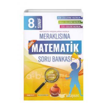 8. Sınıf Meraklısına Genç Matematik Soru Bankası Nartest Yayınları