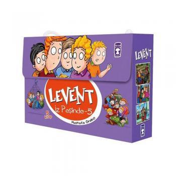 Levent İz Peşinde 5 Set 5 Kitap Mustafa Orakçı Timaş Çocuk