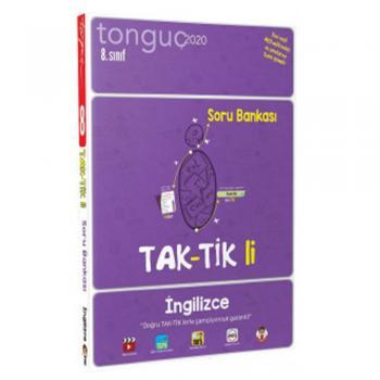 8. Sınıf İngilizce Taktikli Soru Bankası Tonguç Akademi