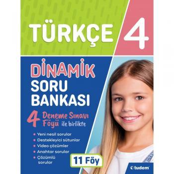 4. Sınıf Türkçe Dinamik Soru Bankası Tudem Yayınları