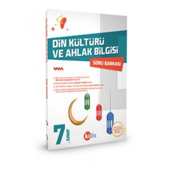 7. Sınıf Din Kültürü ve Ahlak Bilgisi Soru Bankası Kida Yayınları
