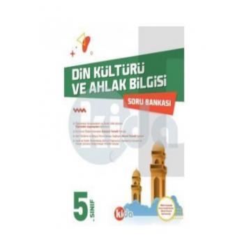 5. Sınıf Din Kültürü ve Ahlak Bilgisi Soru Bankası Kida Yayınları