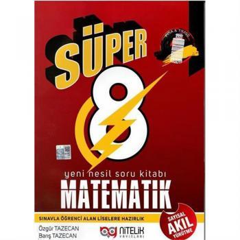 8 Matematik Sayısal Akıl Yürütme Nitelik Yayınları