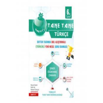 6. Sınıf Türkçe Yeşil Defter Tadında Tane Tane Nartest Yayınları