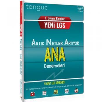 8. Sınıf LGS 1. Dönem Konuları ANA 4 Deneme Tonguç Akademi