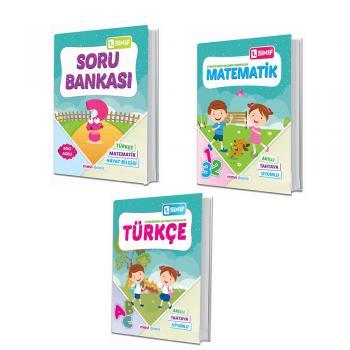 1. Sınıf  mavi deniz Türkçe -Matematik-Soru Bankası  çalışma Seti