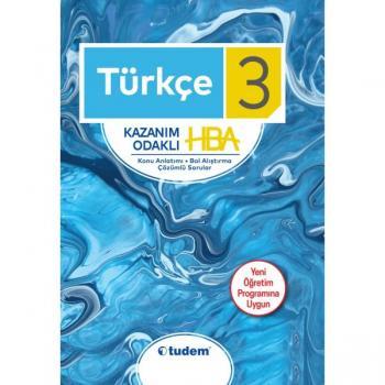 3. Sınıf Türkçe Kazanım Odaklı HBA Tudem Yayınları