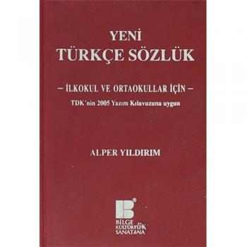 Yeni Türkçe Sözlük Bilge Kültür Sanat