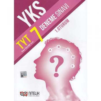TYT 7 Deneme Sınavı Nitelik Yayınları