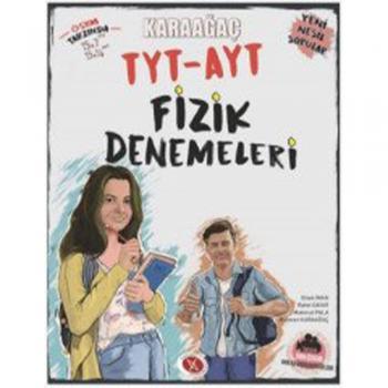 TYT AYT Fizik Denemeleri Karaağaç Yayınları