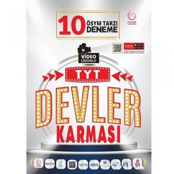 TYT Devler Karması 10 Deneme Sınavı Palme Yayınları