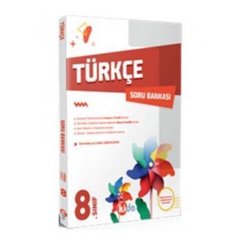 8.Sınıf Türkçe Soru Bankası Kida Yayıncılık