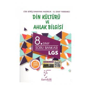 8. Sınıf LGS Din Kültürü ve Ahlak Bilgisi Soru Bankası Karekök Yayınları