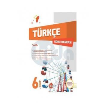6. Sınıf Türkçe Soru Bankası Kida Yayınları