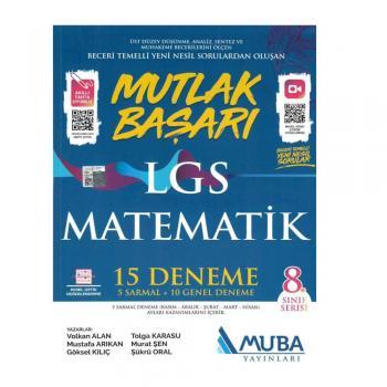 8. Sınıf Matematik LGS Mutlak Başarı 15 Deneme Muba Yayınları