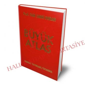 Büyük Atlas (Ciltli)  Faik Sabri Duran