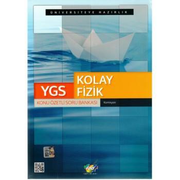 TYT Kolay Fizik Konu Özetli Soru Bankası FDD Yayınları