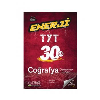 TYT Enerji Coğrafya 30 Deneme Palme Yayınevi